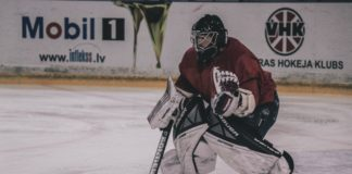Icehockey Goalie