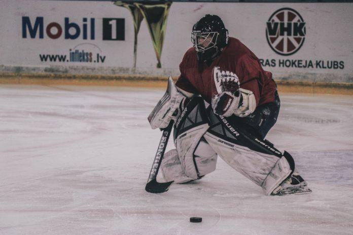 Icehockey Goalie