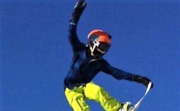 Einar August - snowboard